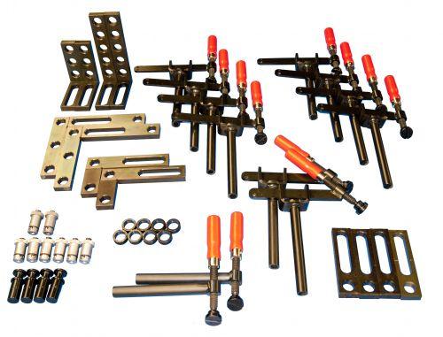 Starter-Set 35 für Schweisstische mit 28mm Lochung 44-teilig